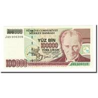 Billet, Turquie, 100,000 Lira, L.1970, KM:205, NEUF - Türkei