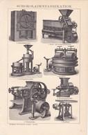 Maschinen Für Die Schokoladenfabrikation - Máquinas