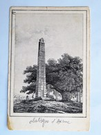 C.P.A. :ETHIOPIA: Obelisk Of AXUME  ETHIOPIE : Obelisque D' AXUME - Etiopía