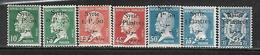 CD144  Syrie De 1924-25 N°143 à 148 Et 153 N+ - Syrie (1919-1945)