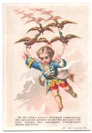 "Figurina, Chromo, Victorian Trade Card. ""Monsieur De Crac Ayant Attrapé Beaucoup De Canards..."". Appel 1-2-14/3 - Altri"