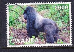 RUANDA, USED STAMP, OBLITERÉ, SELLO USADO - Ruanda