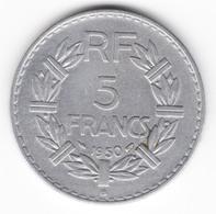5 Francs Lavrillier 1950 B - Frankreich