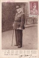MARECHAL PHILIPPE PETAIN. CPA OBLITEREE 1941 BASSES PYRENEES, FRANCE-RARE - BLEUP - Historische Figuren