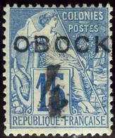 Obock. Sc #24. Unused. * - Unused Stamps