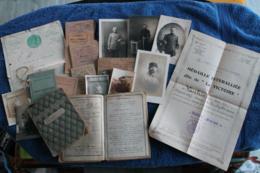 Lot De Documents D'un Poilus Du 25ème Régiment D'artillerie 14-18 - 1914-18