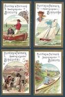 Lot De 12 Chromos - Huntley & Palmers Fabricants De Biscuits - Reading Et Londres - Other