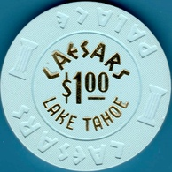 $1 Casino Chip. Caesars, Lake Tahoe, NV. I07. - Casino
