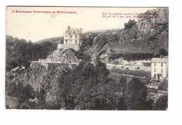 63 La Bourboule Villa Auvergne Pittoresque Sur Ce Sombre Rocher ... - La Bourboule