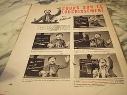 ANCIENNE PUBLICITE COURS SUR LE LOUCHISSEMENT DU PERNOD 1939 - Alcools