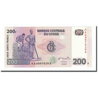 Billet, Congo Democratic Republic, 200 Francs, 2007-07-31, KM:99a, NEUF - Congo