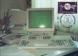 17.05.1990  -  125ieme Anniversaire Des Télécommunications - Maximum Cards