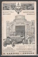 Pubblicitaria - Giocattoli Cardini - Omegna          (c502) - Advertising