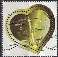 France 2019 Oblitéré Used Coeur De Boucheron à 1,76 Euro SU - 2010-.. Matasellados