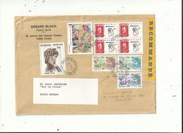 5 L Dont 1 LR  Utilisation De Timbres De Service Unesco Et Conseil De L'europe..1961 à 2002........à Voir... - 1961-....
