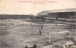 BARCELONA~CAMP Nou Del F. C. De BARCELONA SOCCER~L ROISIN PHOTO POSTCARD 39431 - Espagne
