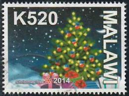 Malawi 2014 Yv. N°838 - Arbre De Noël - Oblitéré - Malawi (1964-...)