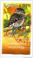 Latvia  LETTLAND 2016  Fauna Birds Owl  USED (0) - Lettonie
