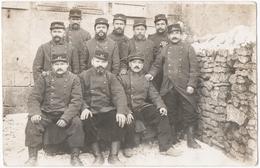 MILITARIA 14-18. CARTE PHOTO. 41 ème REGIMENT  ( D'ARTILLERIE ? ) A SITUER. - Guerra 1914-18