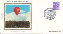 Great Britain Cover Manchester 20-7-1982 (Mail Delivery By Hot Air Balloon Cachet) - 1952-.... (Elizabeth II)