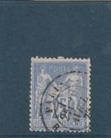 ///  France Type Sage N° 78 -- 25 Cts  Bleu Outremer Côte 2 € - 1876-1898 Sage (Tipo II)