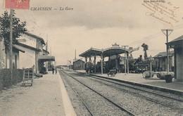I68 - 39 - CHAUSSIN - Jura - La Gare - Other Municipalities
