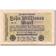 Billet, Allemagne, 10 Millionen Mark, 1923, 1923-08-22, KM:106a, SUP+ - [ 3] 1918-1933: Weimarrepubliek