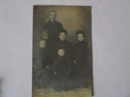 CULTE ANTOINISTE COUPLE ET ENFANTS CARTE PHOTO - Religions & Croyances