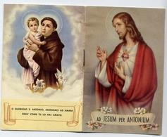 Santino - Ad Jesum Per Antonium - Libricino - At1 - Images Religieuses