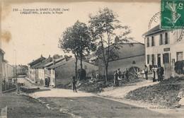 I68 - 39 - Environs De SAINT-CLAUDE - CINQUÉTRAL - Jura - A Droite La Poste - France