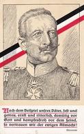 AK Kaiser Wilhelm - Thronrede - Nach Dem Beispiel Unsrer Väter - 1915 (39879) - Familias Reales