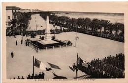 Bizerte - Cérémonie Au Monuments Aux Morts Et La Plage 9 - édition EPA Alger - Tunisia