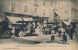 I68 - 39 - MOREZ - Jura - Service D'automobiles De La Maison Bouvet - En Route Pour La Faucille Et Gex - Morez