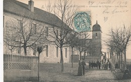I68 - 39 - ANDELOT-EN-MONTAGNE - Jura - Avenue De L'Eglise - Les écoles - France
