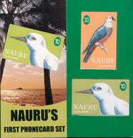 Nauru - 1999 First Issue Set (2) - NAU-2/3 - Mint In Folder - Nauru