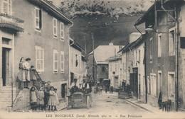 I68 - 39 - LES BOUCHOUX - Jura - Rue Principale - Frankrijk