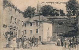 I69 - 39 - SEPTMONCEL - Jura - Place Et Buste Dalloz - Célèbre Jurisconsul - Septmoncel