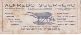 SECANTES BLOTTERS CIRCA 1925 ALFREDO GUERRERO CASA DE COMPRAS. PUBLICIDAD ADVERTISING - BLEUP - Buvards, Protège-cahiers Illustrés