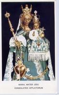 Santino - Maria Mater Jesu - Lutto Con Foto - At 1 - Images Religieuses