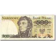 Billet, Pologne, 500 Zlotych, 1982-1988, 1982-06-01, KM:145d, TB+ - Pologne