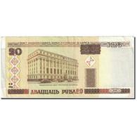 Billet, Bélarus, 20 Rublei, 2000, 2000, KM:24, TTB - Belarus