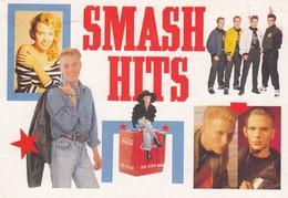 Postcard Advertising / Promoting Smash Hits Pop Magazine Kylie Minogue Jason Donovan Coca Cola Int My Ref  B23392 - Advertising
