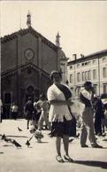 Vecchia Foto Con Donnina - Formato Piccolo Non Viaggiata – At1 - Foto