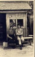 Vecchia Foto Con Donnine - Formato Piccolo  Non Viaggiata – At1 - Foto