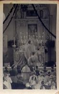 Vecchia Foto Di Una Chiesa E Celebrazione Della Prima Comunione - Formato Piccolo  Non Viaggiata – At1 - Foto