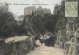PARIS FRANCE  Les Buttes Chaumont - Parcs, Jardins