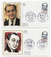 FDC France 1983 - Pierre Mendès-France YT 2298 - 27 Louviers & Paris - FDC