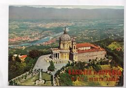BASILICA DI SUPERGA, M. 672 Veduta Aerea, Unused Postcard [22979] - Churches