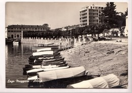 Lago Maggiore, Arona, Used Real Photo, Vera Fotografia Postcard [22986] - Altre Città