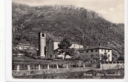 Donnaz, Chiesa Parrocchiale, 1963 Used Real Photo, Vera Fotografia Postcard [22987] - Italy